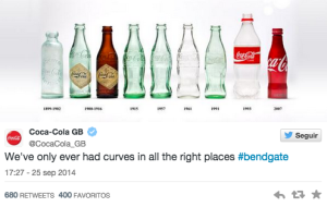 tuits de marcas en cirugia creativa