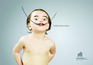 publicidad inspirada en el arte